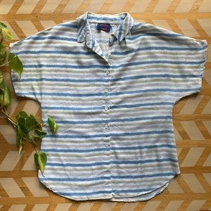 VTG | Casual Short Sleeve Button Down